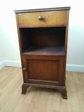 More details for antique waring & gillow bedside cabinet mahogany early 20thc