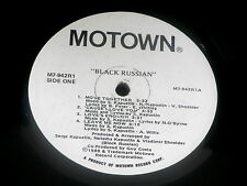 BLACK RUSSIAN~MEGA RARE~MOTOWN~ RARE PROMO~~ FUNK  LP