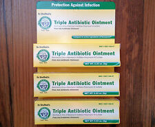 3x TRIPLE ANTIBIOTIC OINTMENT FOR CUTS, SCRAPES AND BURNS