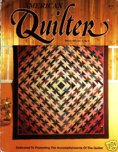 Craft Books: #1038 American Quilter Magazine 1990