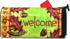 FALL WELCOME Magnetic Mailbox Cover Autumn Harvest Home Decor Made in USA