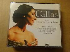 2 CD BOX / MARIA CALLAS - FAVOURITE OPERA ARIAS