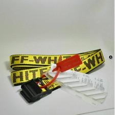 Off White Industrial Tie Down Belt Virgil Abloh  120cm 130cm 160cm 200cm Nuovo!