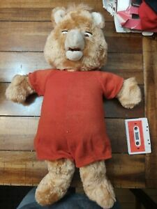 Vintage Teddy Ruxpin Animatronic Toy - Worlds of Wonder 1985 - Clothes + more