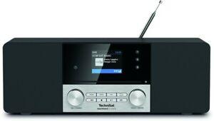 Technisat DIGITRADIO 3 VOICE DAB+ Internetradio mit CD Fernbedienung Wecktimer