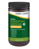 USDA Organic Super Green Drink Mix Mint - Superfood Juiced & Whole Powders 1 lb