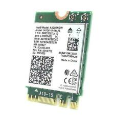 WiFi 6 BT5.1 NGFF Intel AX200NGW Dual Band WiFi Card F0N7 AU 9260NGW better J4M7