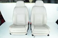 BMW F01 F02 FRONT PASSENGER & DRIVER NAPPA LEATHER HEATED COOLED SEATS SET OEM