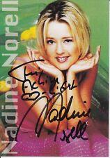Nadine Norell   Musik  Autogrammkarte  original signiert 366826