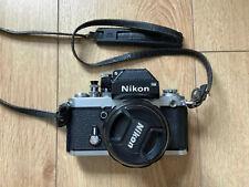 Nikon F2 Fotocamera SLR Per Pellicola Cromato Corpo e lente a