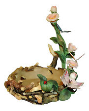 """HOME INTERIORS Butterfly Flowers Pretty Table Decoration 7.5"""" Tall 5"""" Wide"""