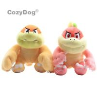 Super Maio Bros. Boom Boom & Pom Pom Koopa Plush Toy Stuffed Doll 6.5'' Gift