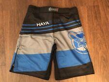 Hayabusa Kyoudo Prime MMA Shorts - Blue X-Large (36) - Free Shipping