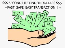 *Online Now!* 10,000 SECOND LIFE LINDEN DOLLARS *FAST, SAFE TRANSACTION*
