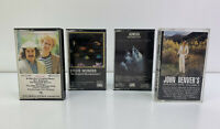 Lot of 4 - Vintage Cassette Tapes - Genesis, Simon & Garfunkel, Stevie Wonder
