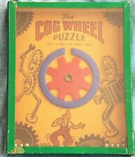 Antique England WWII Dexterity Puzzle/1940's Vintage Hand Held Child Toy
