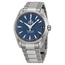 Omega Aqua Terra Blue Dial Stainless Steel Mens Watch 23110392103002