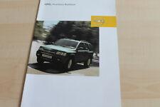 134066) Opel Frontera - Barbour - Prospekt 04/2003