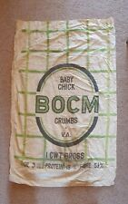 More details for vintage bocm linen grain baby chic crumbs v.a sack, 1cwt gross upholstery #2