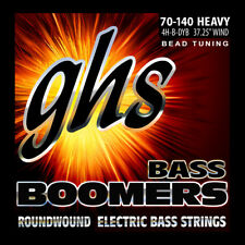GHS 4H-B-DYB Bass Boomers - BEAD TUNING - 70-140 Heavy