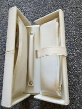LUXURY Portable Travel Jewellery Box Organizer PU Case Storage holiday handle