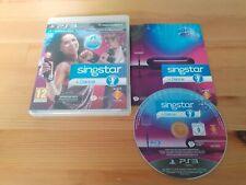 SINGSTAR + DANCE  PLAYSTATION 3 GAME COMPLETE  12