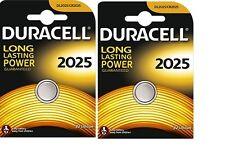 2 PILES CR2025 / DL2025  DURACELL  3V  LITHIUM  DLC 2024