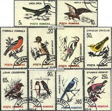 Rumänien 4875X-4884X (kompl.Ausg.) gestempelt 1993 Vögel EUR 1