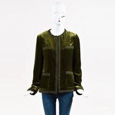 Abrigos y chaquetas de terciopelo verde para Mujeres   eBay