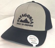 PATAGONIA MEN S BUILT TO ENDURE GEOLOGERS ROGER THAT HAT MID CROWN DRIFTER  GREY 2ed1119a2184