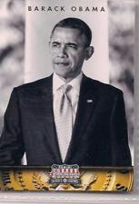 2012 Panini Americana Heroes & Legends Barak Obama