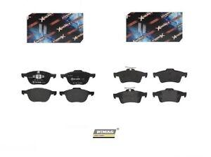Bremsbeläge Vorne Hinten Für Ford Focus III 1.6 LPG 120 HP