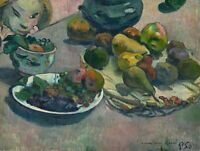 Fruit Paul Gauguin Fine Art Print on Canvas Giclee Painting Reproduction Small