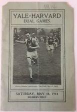 1914 Harvard vs Yale Dual Games Track And Field Soldiers Field Harvard