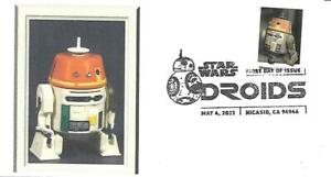 First Day Cover SC#5582 Star Wars Droids Chopper May 4 2021