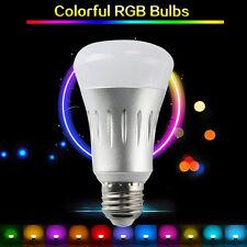 7W E27 Wireless Wifi 2.4GHz APP Remote Control Smart Light RGB LED Lamp Bulb