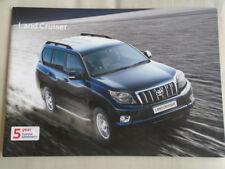 Toyota Land Cruiser range brochure Feb 2011