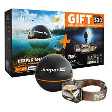 Deeper Smart Sonar PRO Plus with Petzl Headlamp Bundle