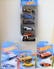 Hotwheels Lamborghini 5 Pack Aventador Countach Urus Collection of 8 Model Cars