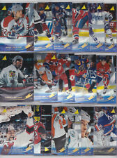 1995-96 Pinnacle Rink Collection Lot 17 Different Cards See Scans NHL Hockey
