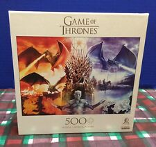 """New Buffalo Game Of Thrones 500 Pc. 21"""" x 15"""" Jigsaw Puzzle"""