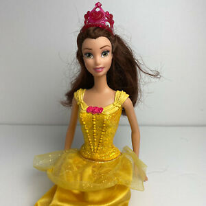 Disney Princess Belle Beauty & The Beast Mattel Doll 2012 Dressed