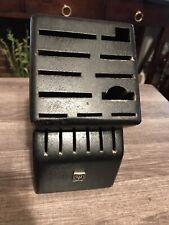 New listing Wusthof 17-Slot Knife Block - Black