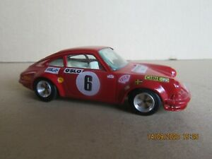 734N Kit Artisanal base Burago Porsche 911 S #6 Rally Mounted Carlo 1970 1:43