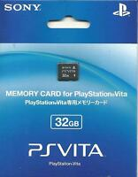 """100% OFFICIAL SONY PS VITA 32GB MEMORY CARD PLAYSTATION PSV NEW """"FREE SHIPPING"""""""