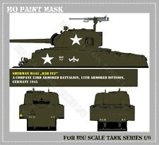 HQ PAINT MASK for SHERMAN TANK IN 1/6 SCALE  09