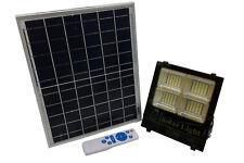 Faro led 100W pannello solare luce calda fredda naturale esterno tripla luce