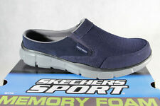 Skechers Men's Clogs Blue Mules House Shoes Slippers New
