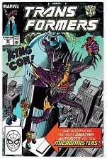 TRANSFORMERS #54 (VF/NM) 1st MICROMASTERS Appearance! Vintage Marvel Comic 1989