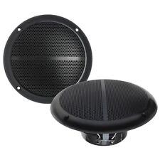 Kenford Marine 5 Lautsprecher zum Einbau 130 mm wetterfest Wasserdicht, Schwarz